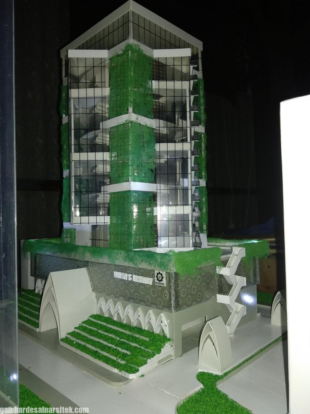 Maket Arsitektur Miniatur Model 18 b