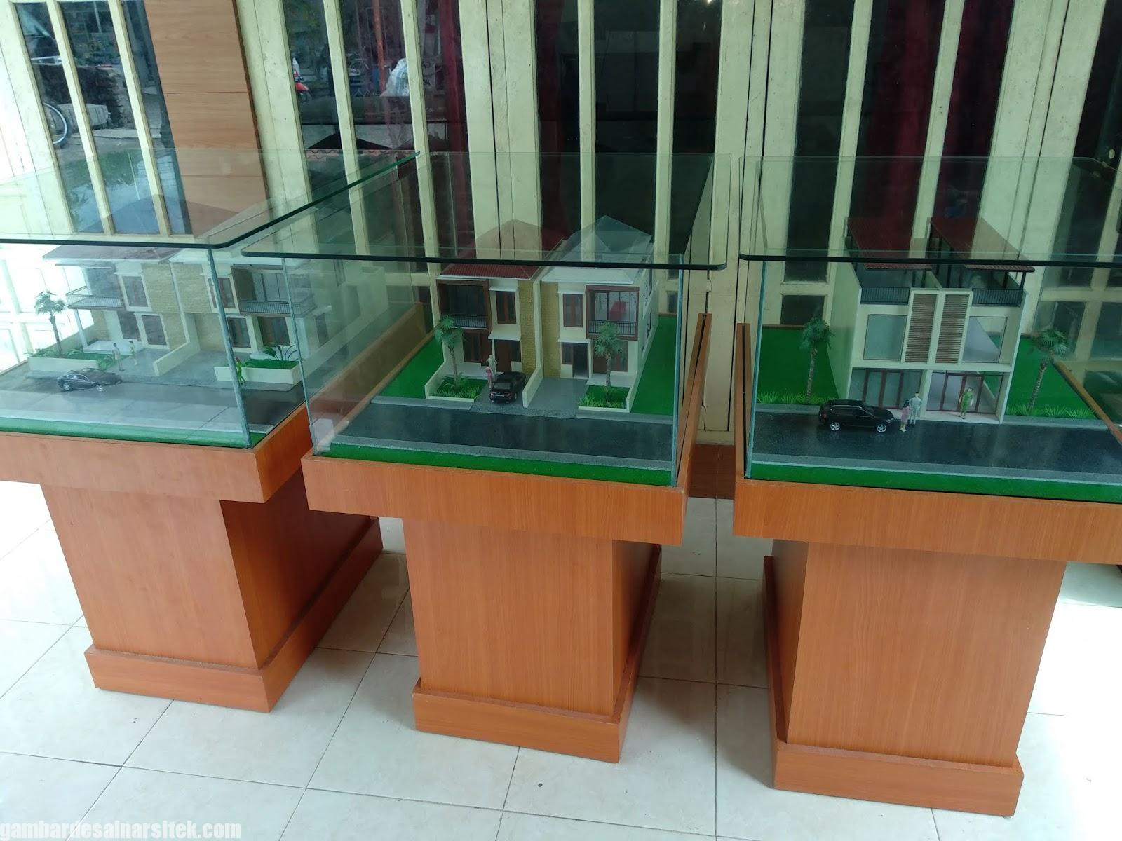 Maket Arsitektur Miniatur Model 21