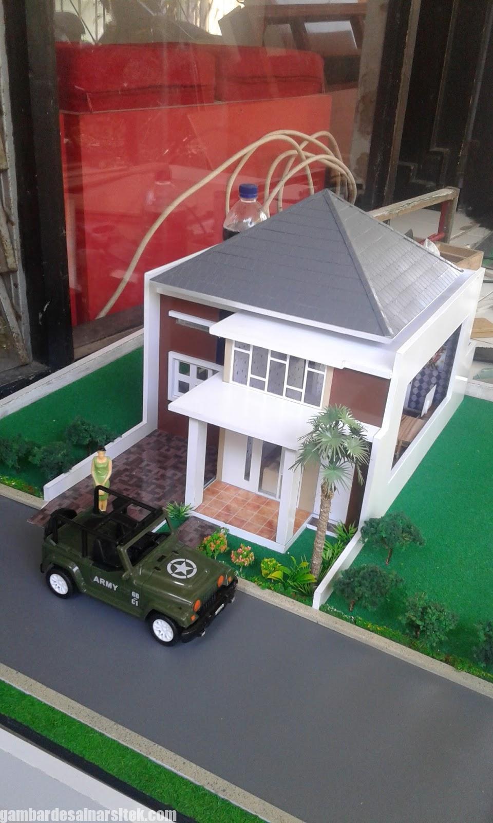 Maket Arsitektur Miniatur Model 22