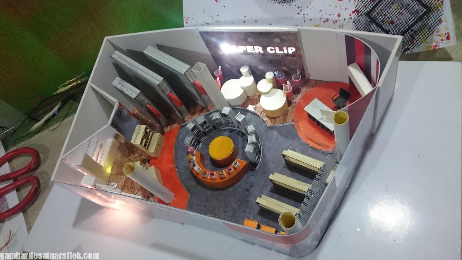 Maket Arsitektur Miniatur Model 23 b