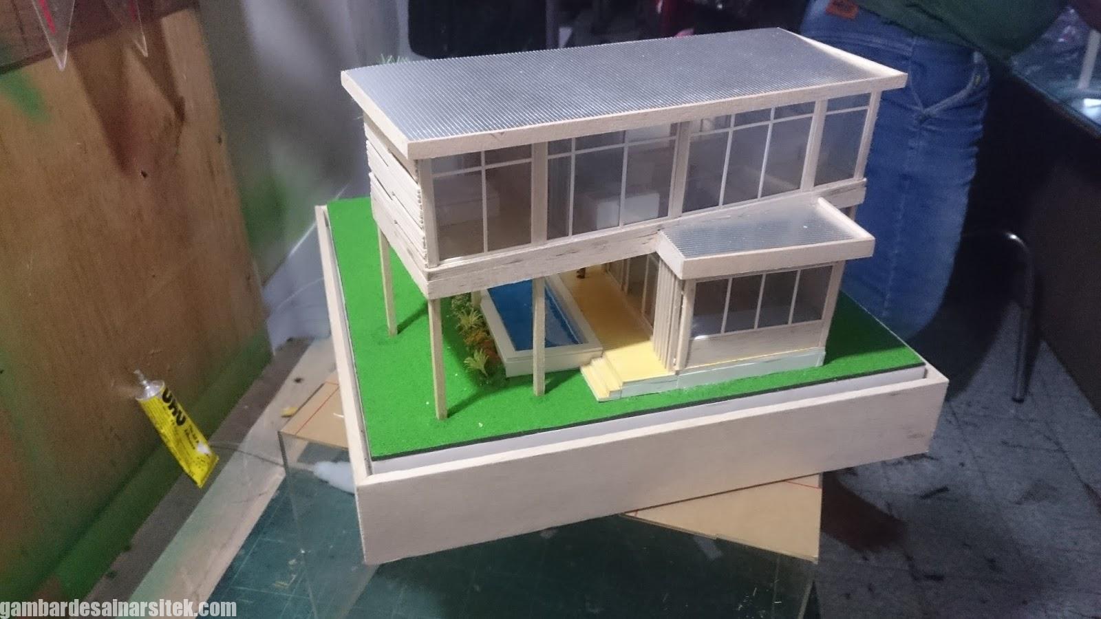 Maket Arsitektur Miniatur Model 25 b