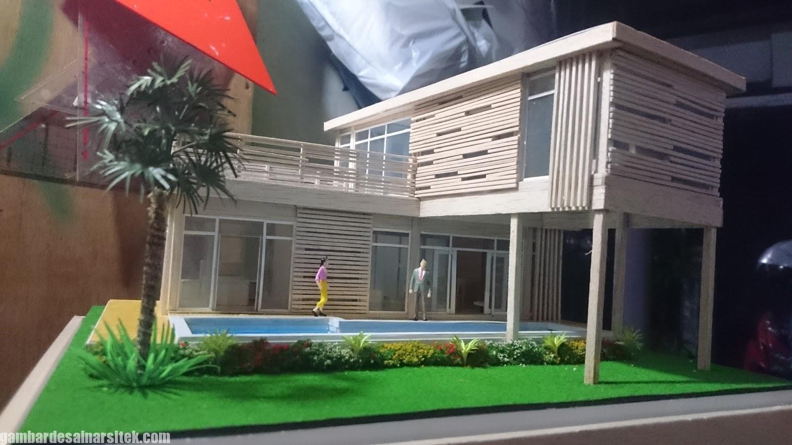 Maket Arsitektur Miniatur Model 25