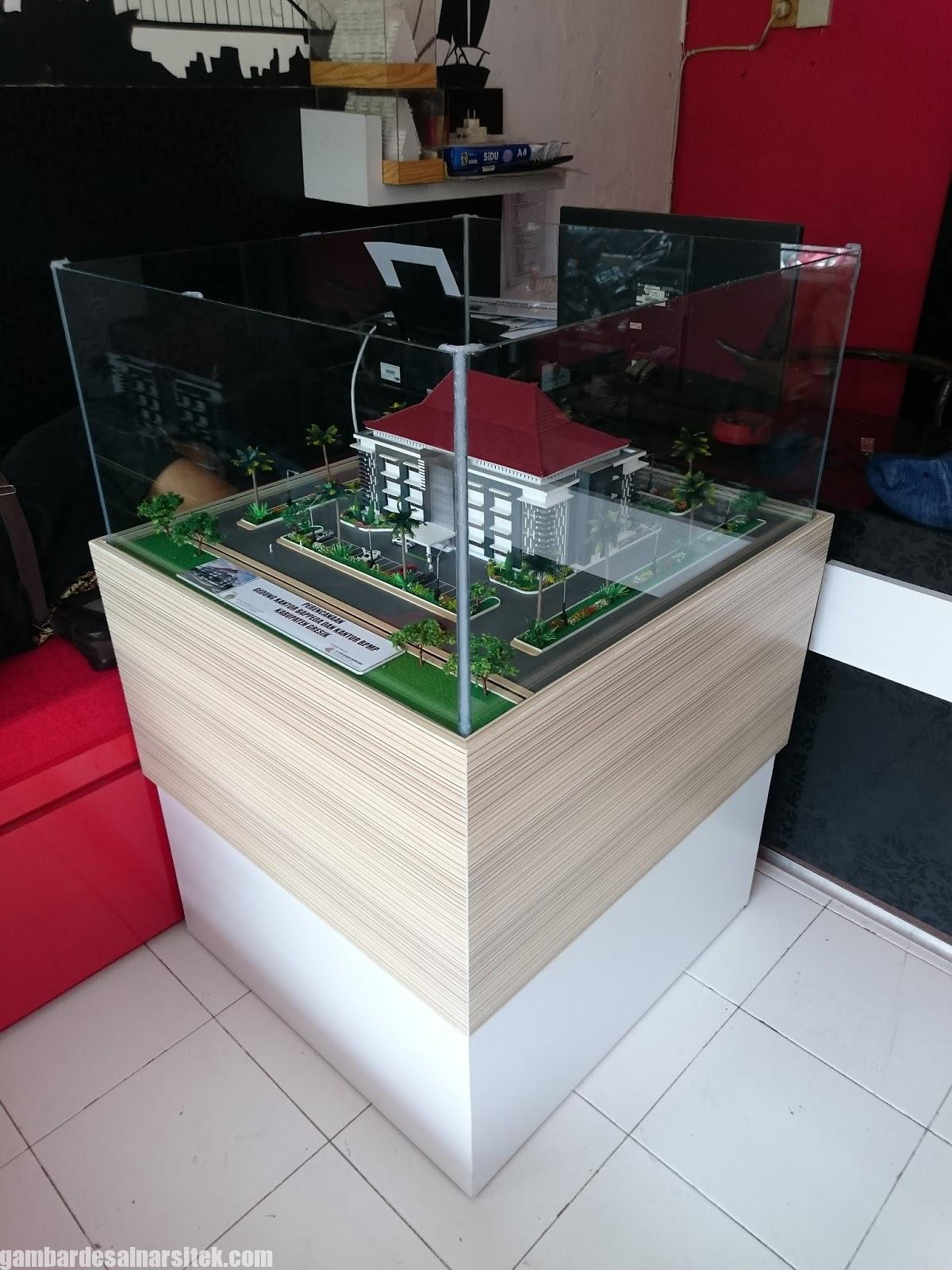 Maket Arsitektur Miniatur Model 27 a