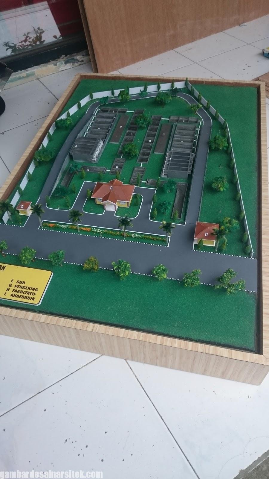 Maket Arsitektur Miniatur Model 28