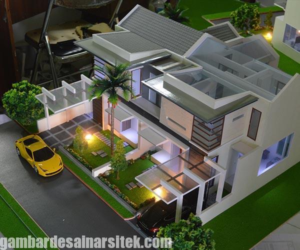 Maket Arsitektur Miniatur Model 3