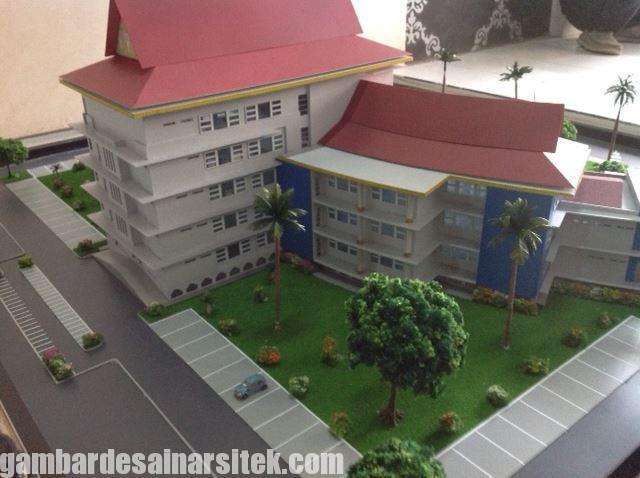 Maket Arsitektur Miniatur Model 31 a