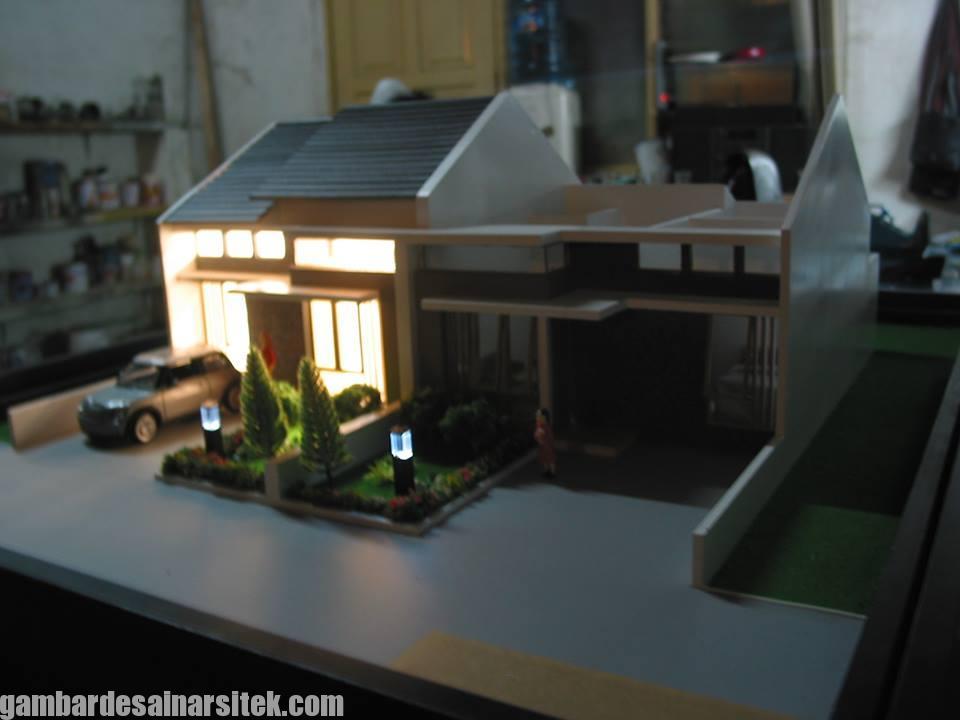 Maket Arsitektur Miniatur Model 33 b
