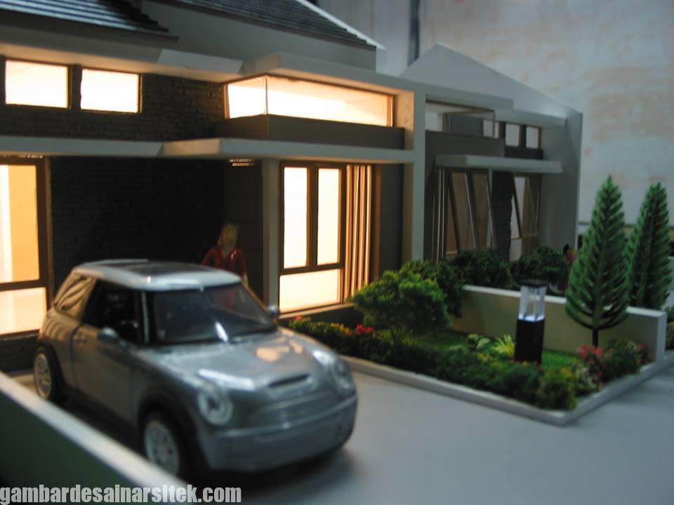 Maket Arsitektur Miniatur Model 33 c