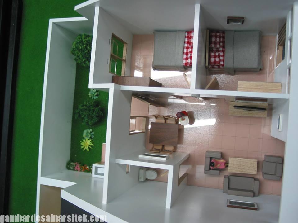 Maket Arsitektur Miniatur Model 33