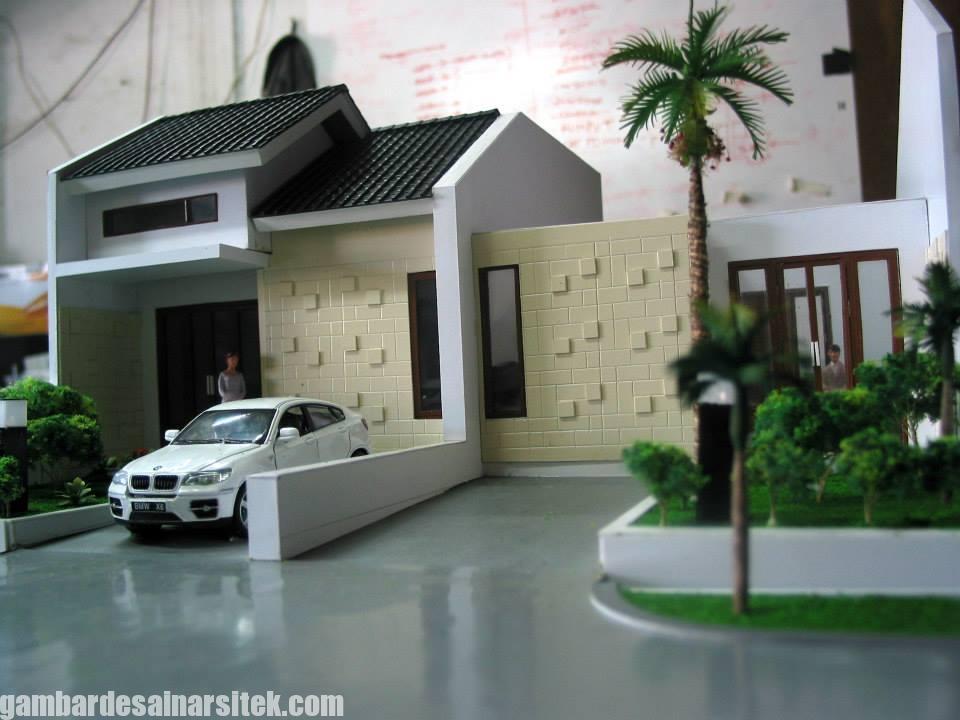 Maket Arsitektur Miniatur Model 34 a