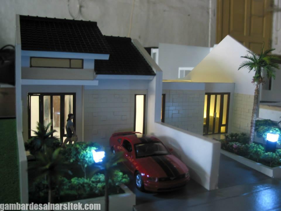 Maket Arsitektur Miniatur Model 34 c