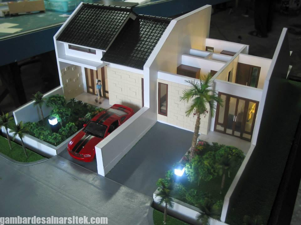 Maket Arsitektur Miniatur Model 34