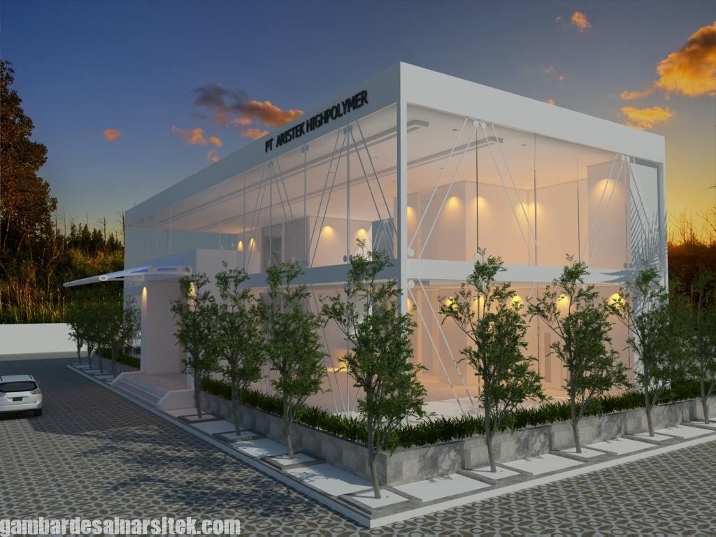 Desain Gedung Kantor Minimalis (1)