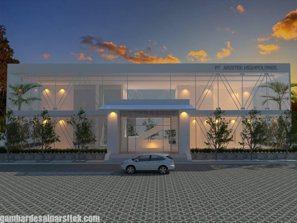 Desain Gedung Kantor Minimalis (4)