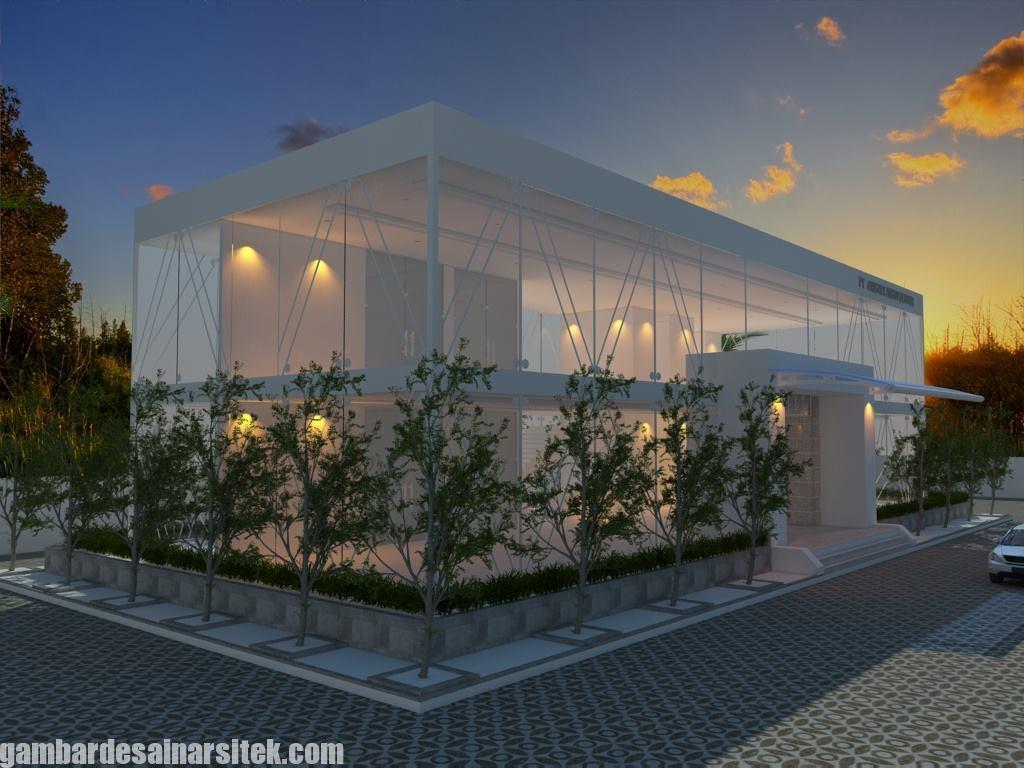 Desain Gedung Kantor Minimalis (5)