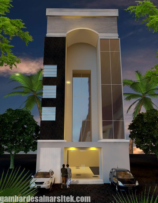 Desain Gedung Kantor Minimalis