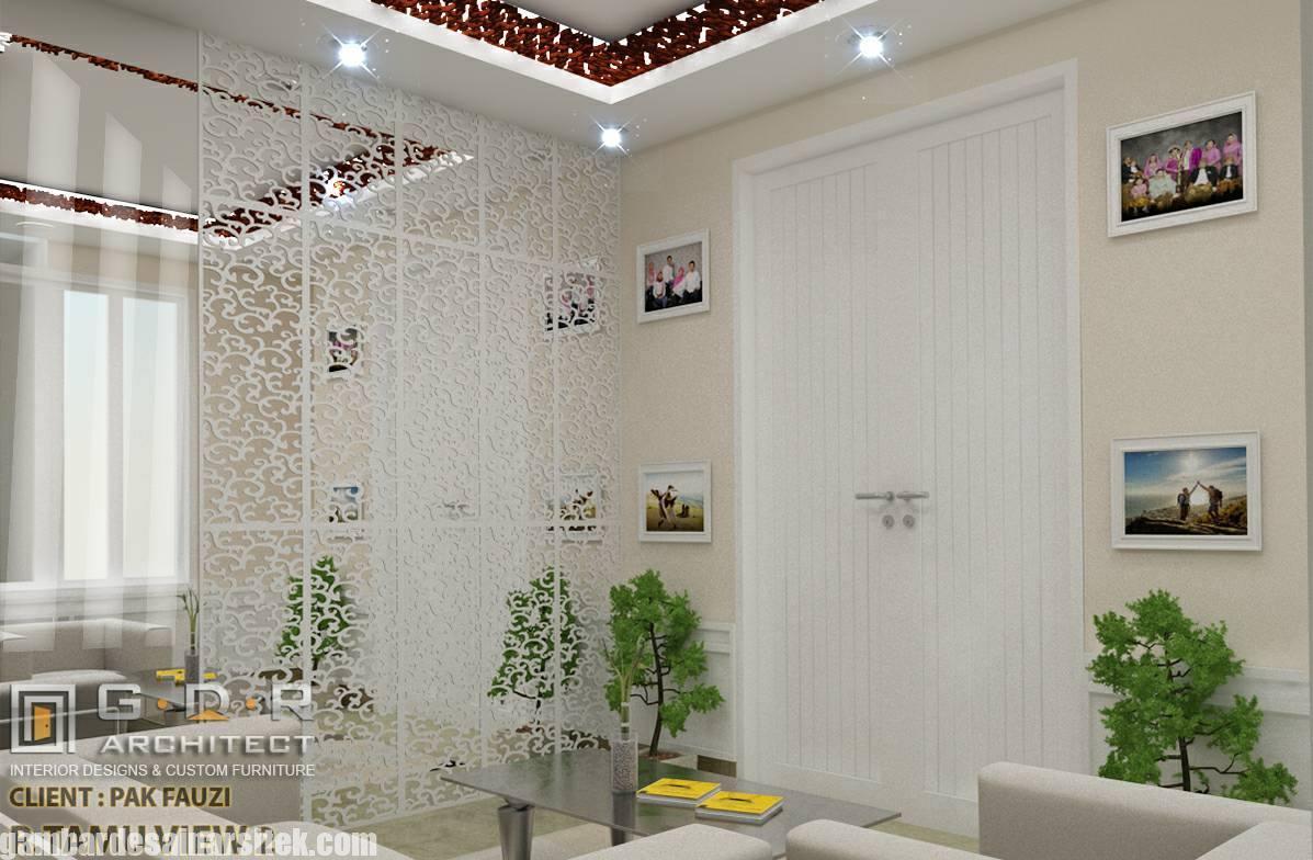 Desain Interior Ruang Tamu dan Keluarga Minimalis (2)