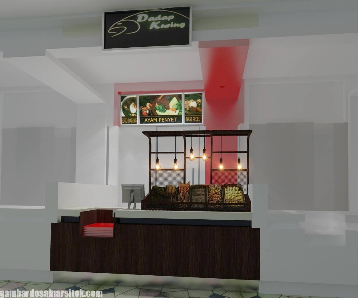Desain Interior Rumah Makan Minimalis Modern