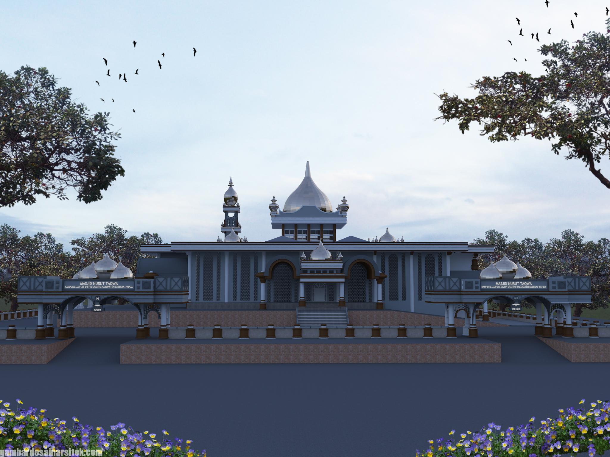 Desain Masjid Minimalis Modern (11)