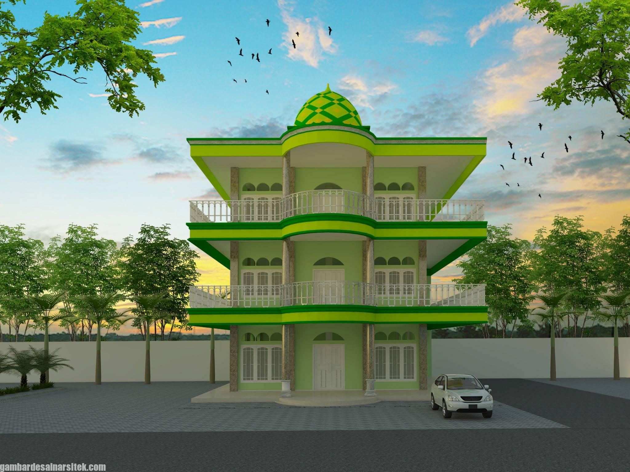 Desain Masjid Minimalis Modern (14)