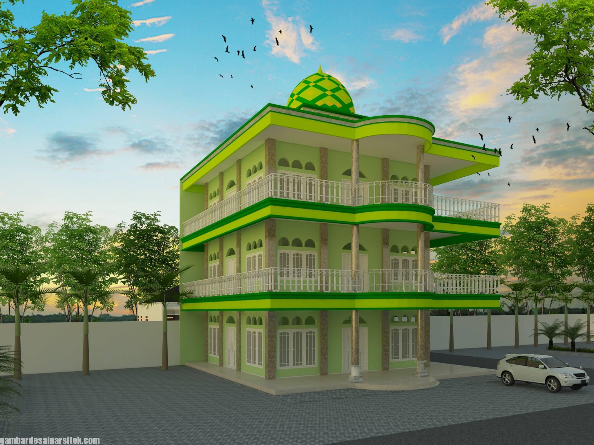 Desain Masjid Minimalis Modern (15)