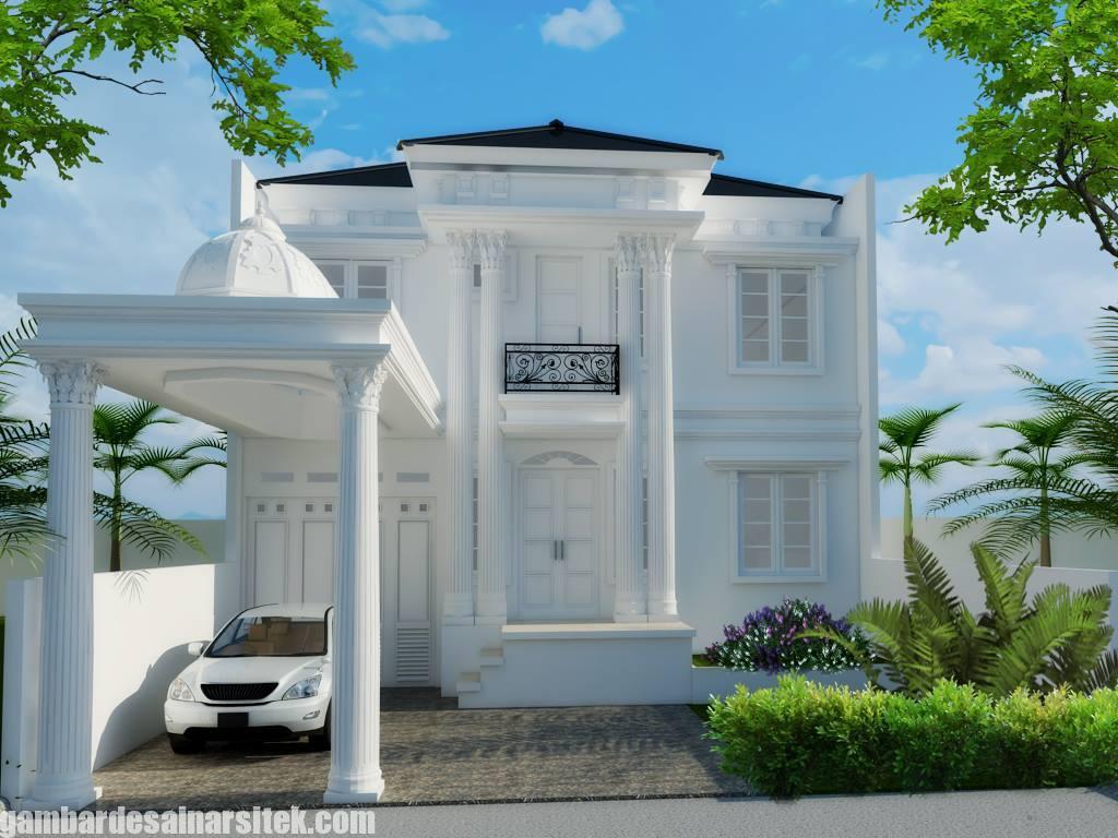 Desain Rumah Mediterania Mewah 2 Lantai (10)