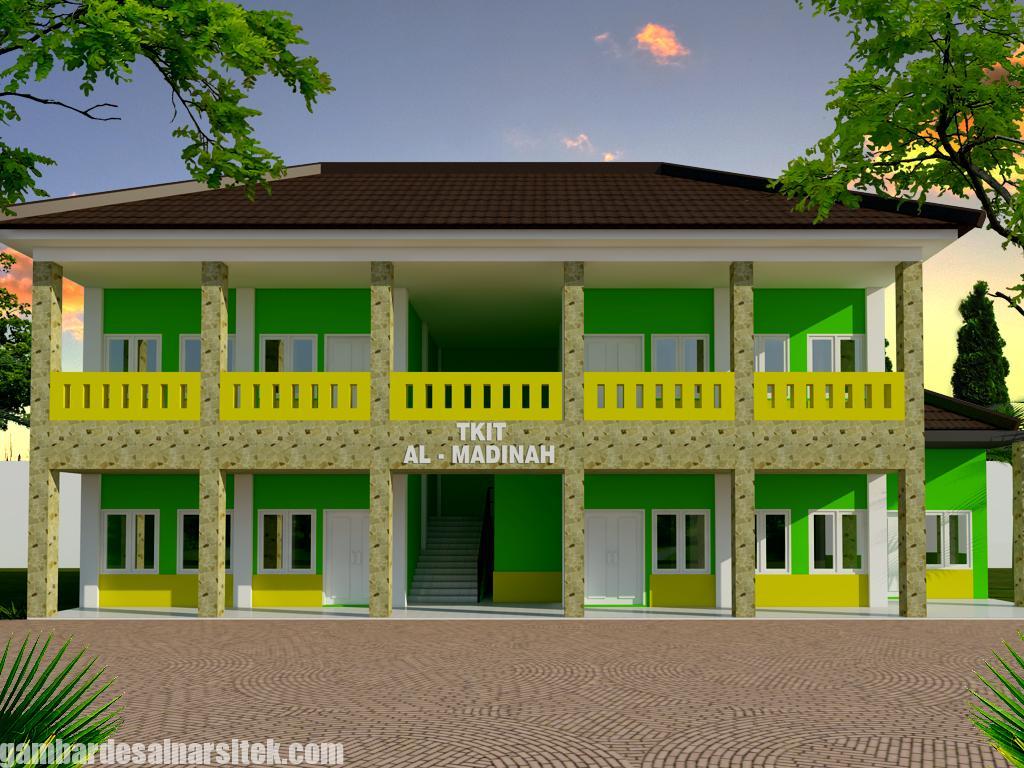 Desain Sekolah TK Minimalis