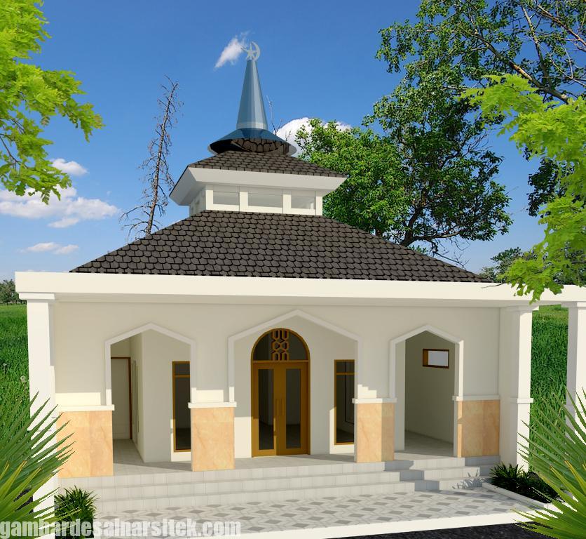Desain masjid Minimalis Modern (3)
