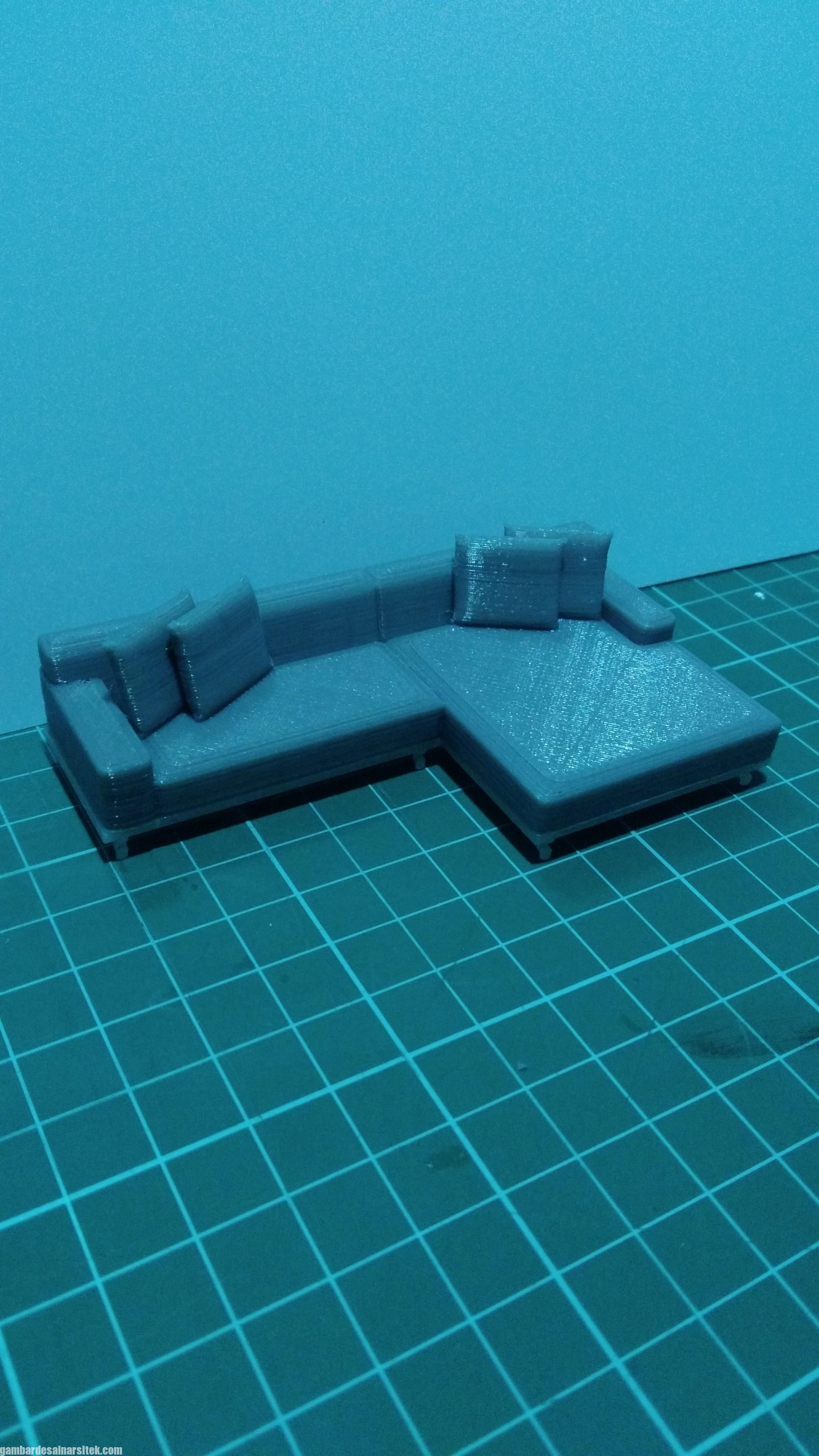 Maket Arsitektur Miniatur Model 39 Bahan maket Sofa 1-30 (3)