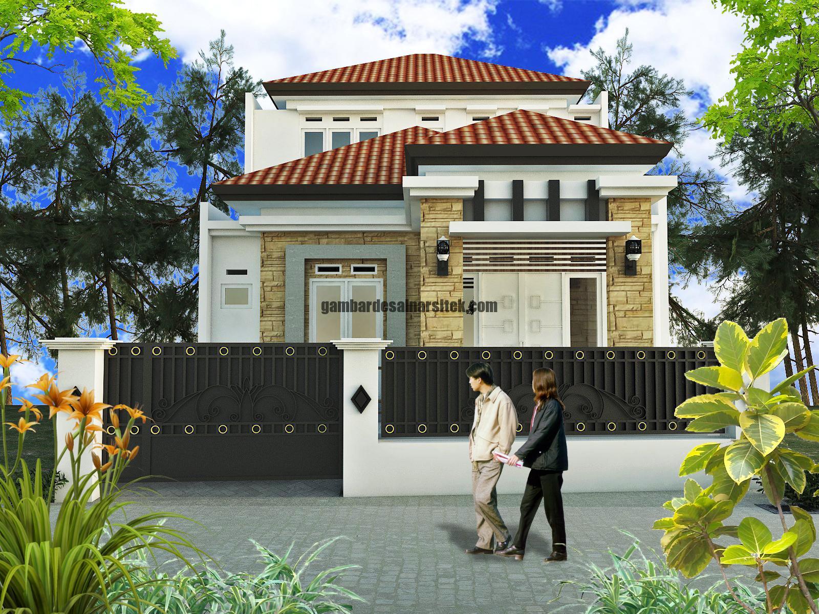 80 Desain Atap Segitiga sebagai Inspirasi Rumah Anda 3