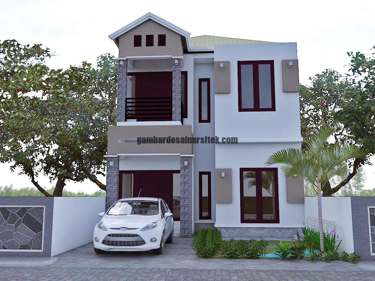 80 Desain Atap Segitiga sebagai Inspirasi Rumah Anda 6