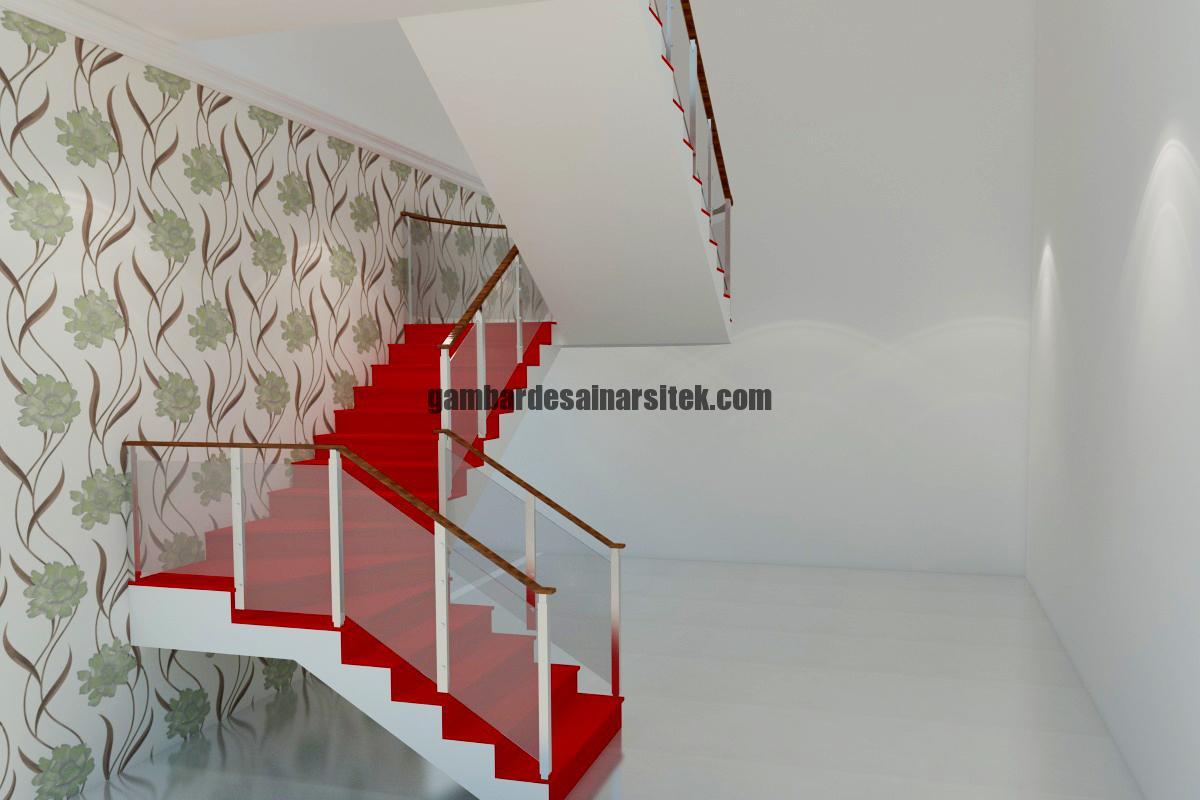 Desain Interior 3D Tangga 1