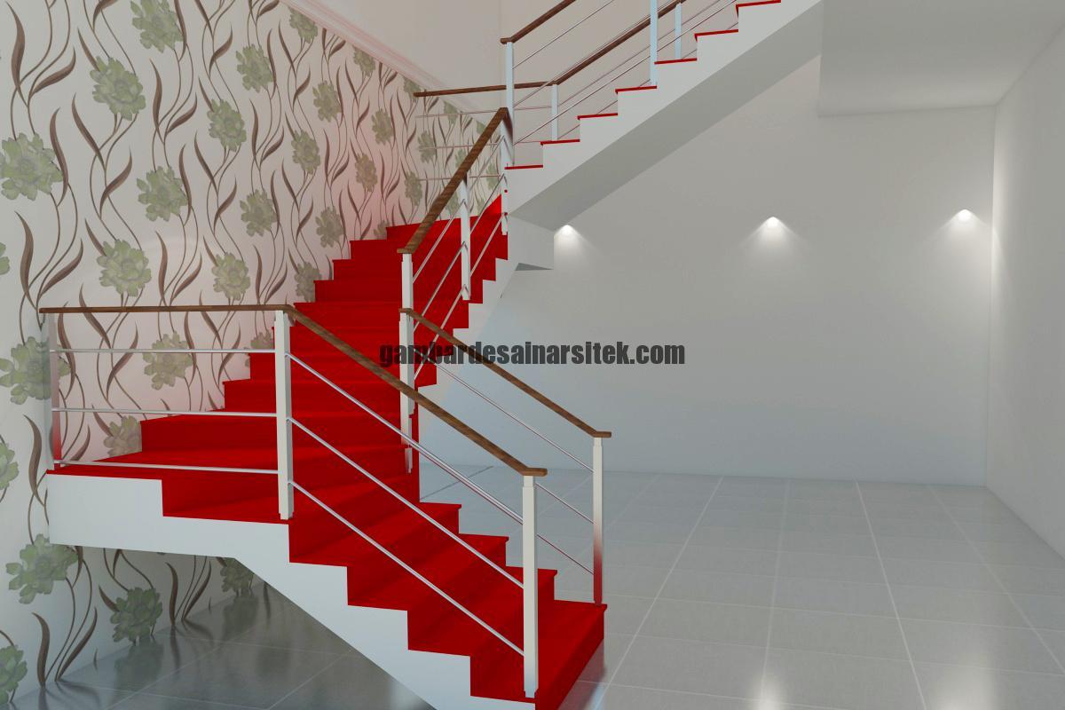 Desain Interior 3D Tangga 2