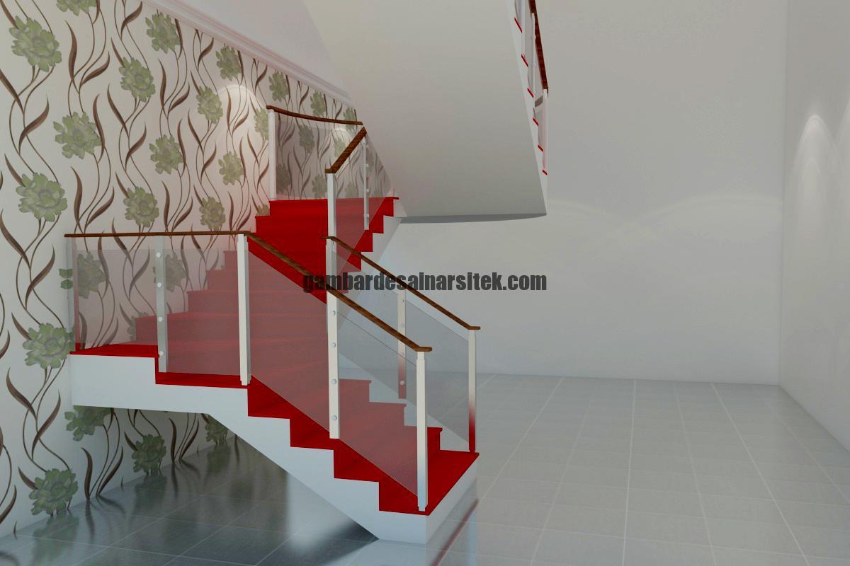 Desain Interior 3D Tangga 4