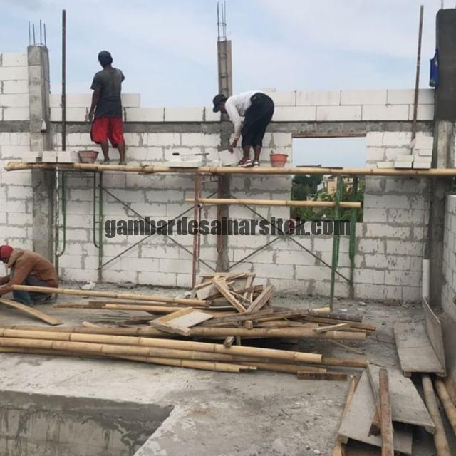 Kontraktor Bangunan Rumah Bandung Jakarta Pasang Bata 6