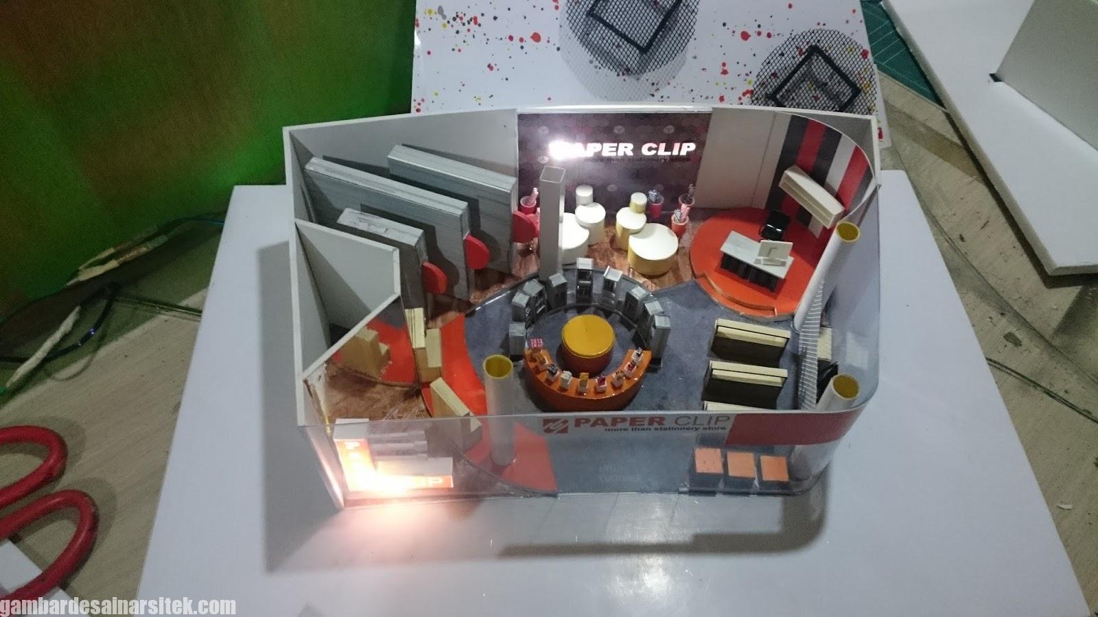 Maket Arsitektur Miniatur Model 23 c
