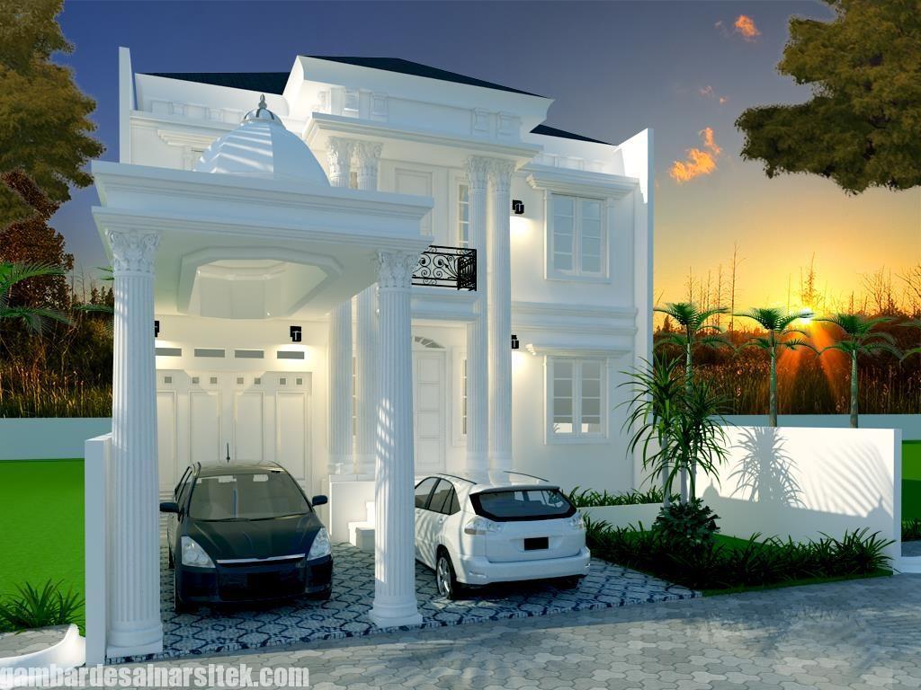 Desain Rumah Mediterania Mewah 2 Lantai 9