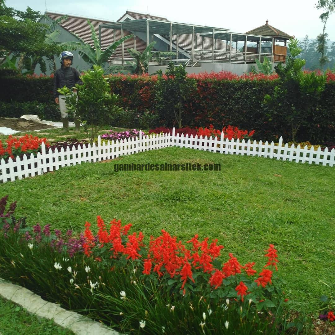 Jasa Pembuatan dan Perawatan Taman Bandung Jakarta Pagar Pembatas 1