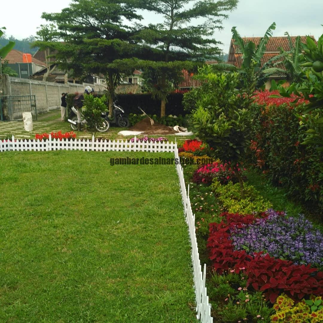 Jasa Pembuatan dan Perawatan Taman Bandung Jakarta Pagar Pembatas 4