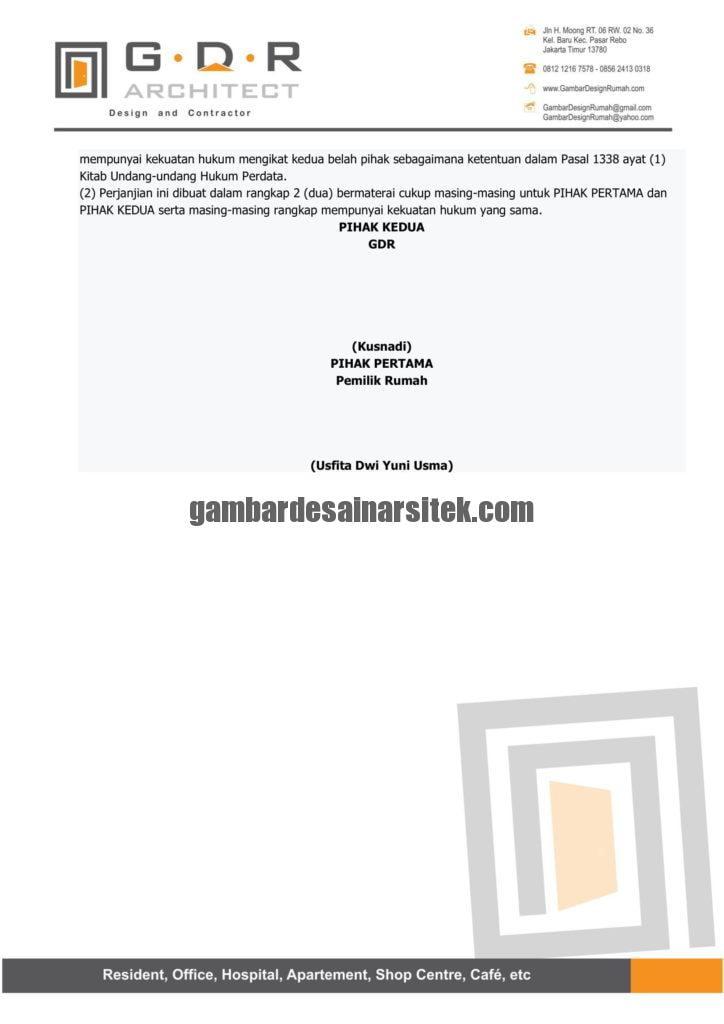 Kontraktor Rumah Jakarta Tipe Minimalis 2 Lantai 12