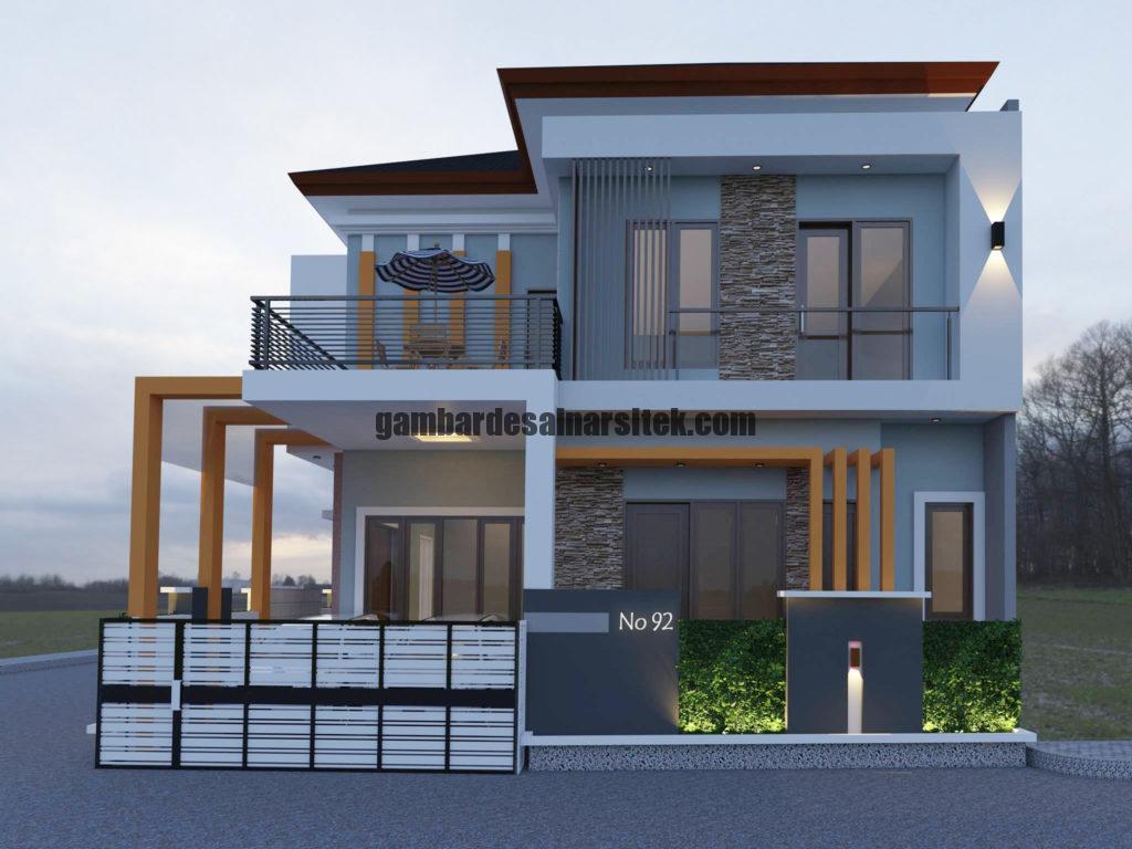 Kontraktor Rumah Jakarta Tipe Minimalis 2 Lantai 3