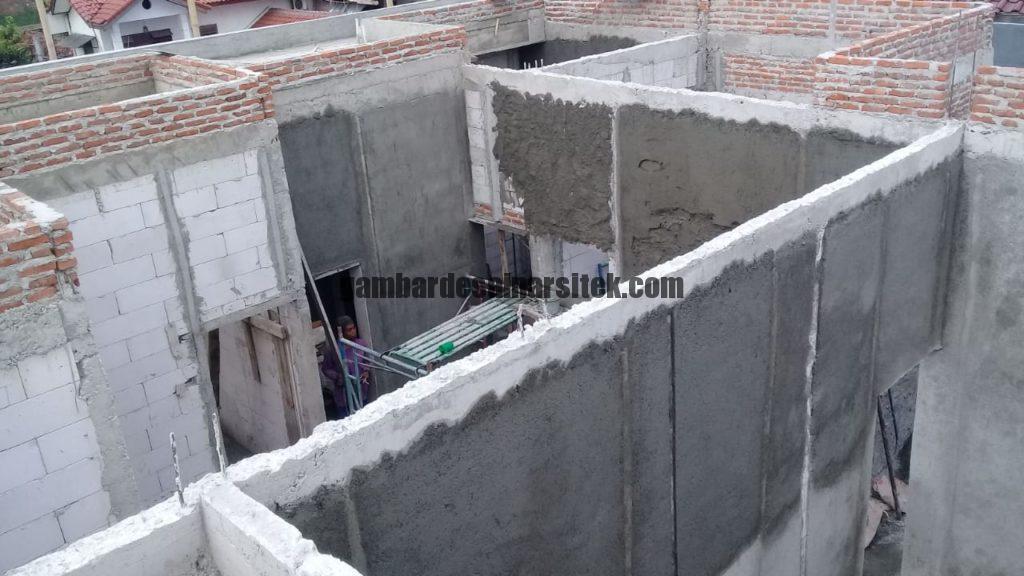 Kontraktor Rumah Jakarta Tipe Minimalis 2 Lantai 5