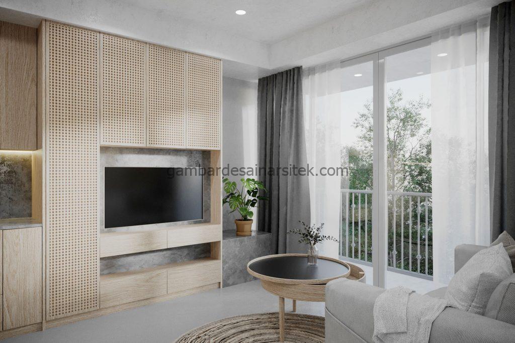 Contoh Desain Interior Small Apartement 1