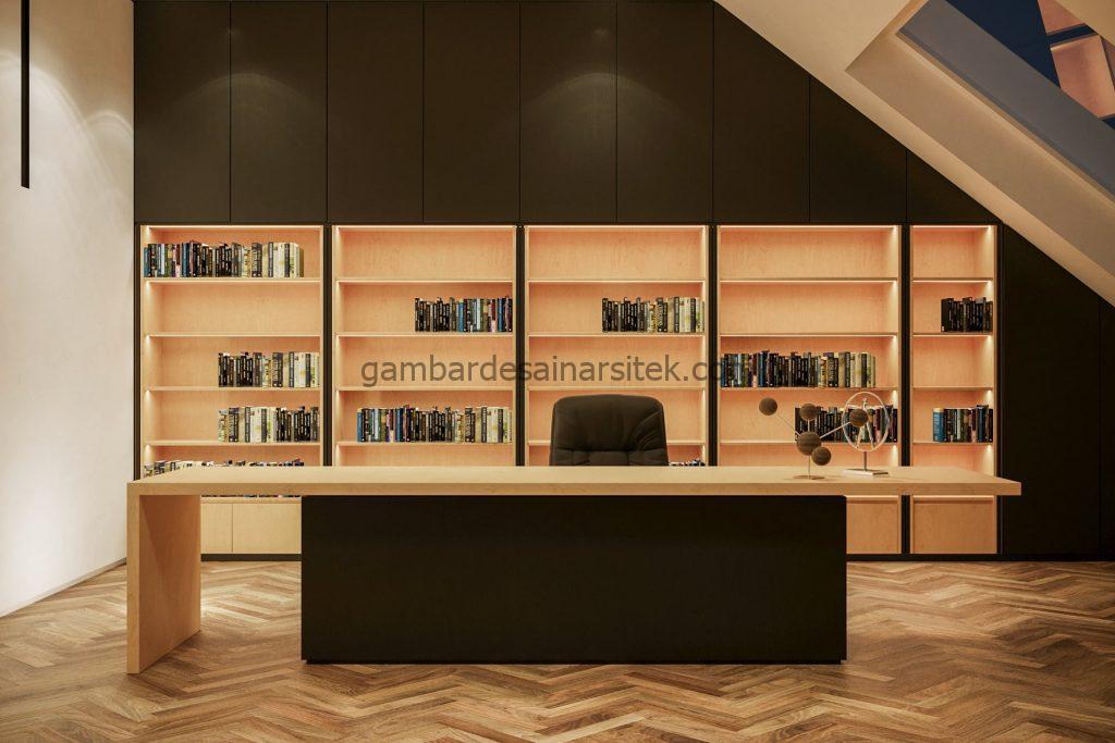 Contoh Desain Interior Study Room 1