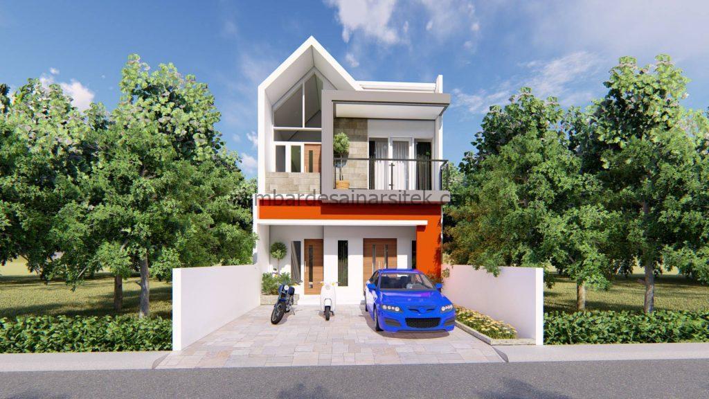 Desain Interior Satu Rumah Dua Lantai Minimalis Mewah 12