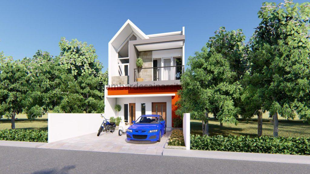 Desain Interior Satu Rumah Dua Lantai Minimalis Mewah 14