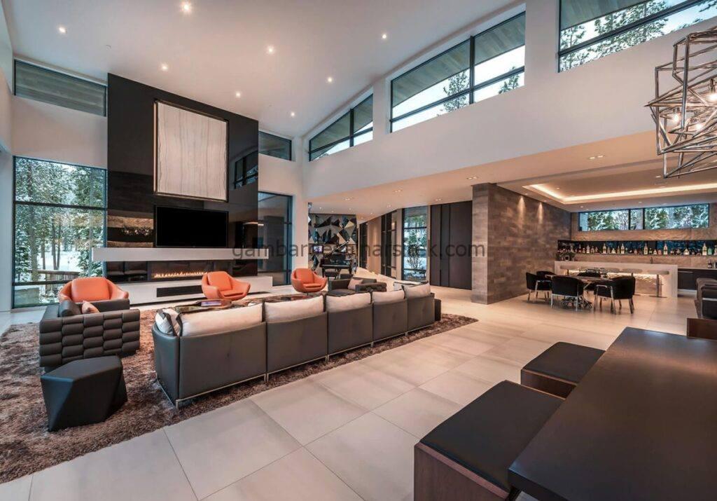 9 Ide Desain Interior Rumah Mewah 10