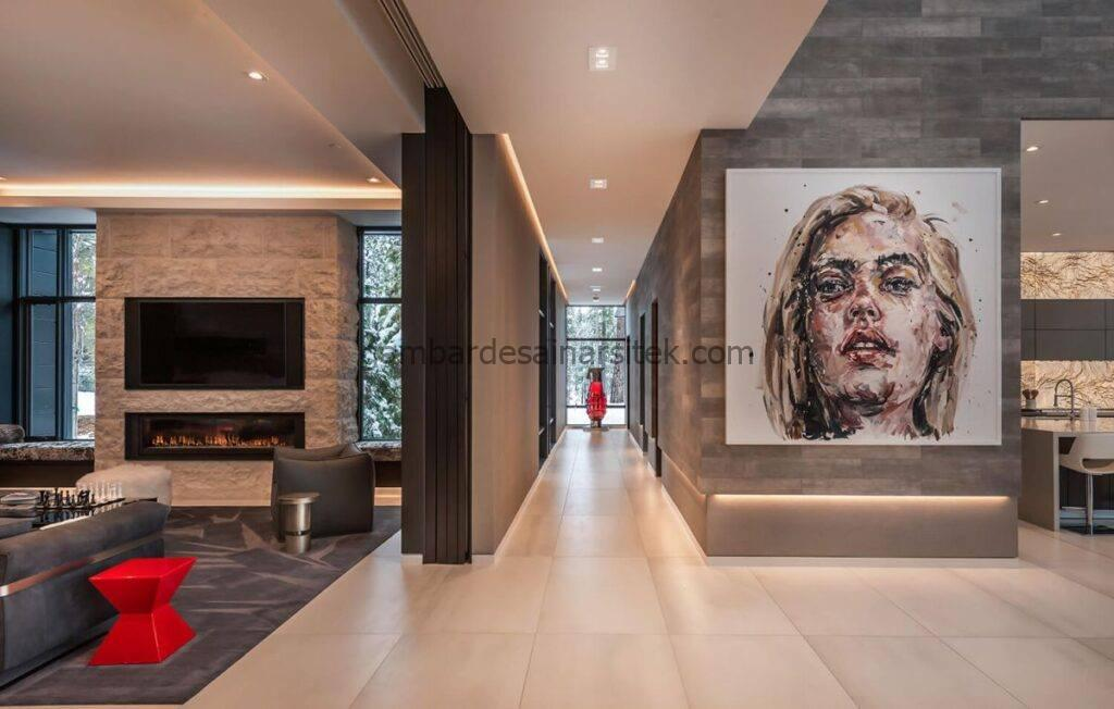 9 Ide Desain Interior Rumah Mewah 8