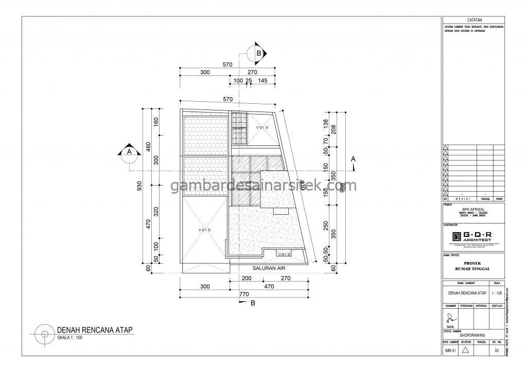 Denah lantai 3 Gambar Desain Rumah 2 Lantai Cat Ungu 3