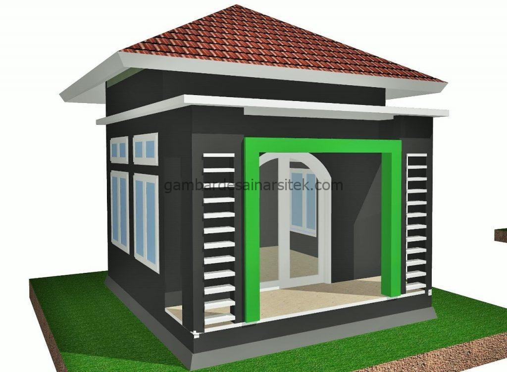 Desain Mushola Kantor Tertutup